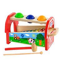 Игрушка Viga Toys 2-в-1 Ксилофон (50348), фото 1