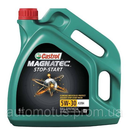 Масло моторное CASTROL Magnatec STOP-START  A3/B4    4L