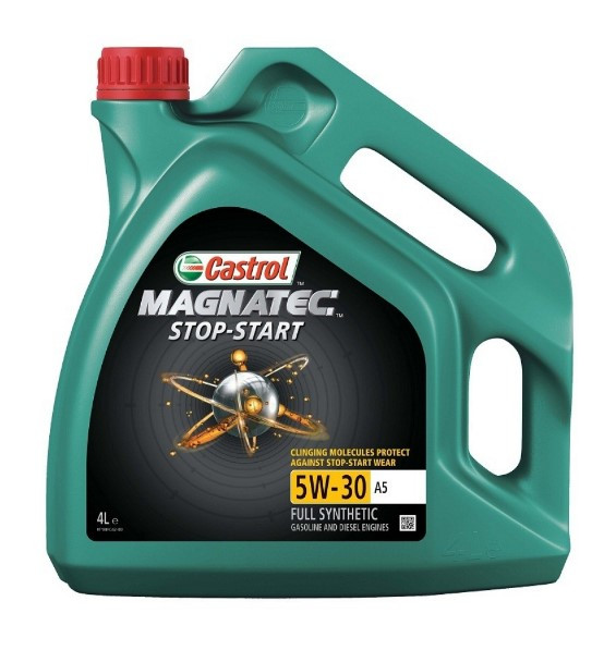 Масло моторное CASTROL Magnatec STOP-START   A5    4L