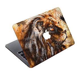 Дизайнерский чехол с рыжим львом для MacBook Pro 15 Touch Bar (А1707/А1988/А1990)