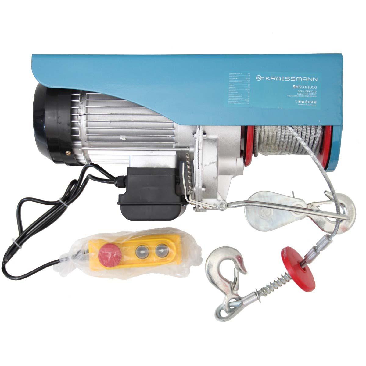 Підйомник електричний Kraissmann SH500/1000