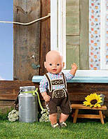 Одежда для малыша Баварский стиль BABY Born Беби Борн  Zapf Creation 822869