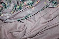 Ткань ангора Альпака, плотная мягкая, цвет бледно розовая, оттенок сирень . №307, фото 1