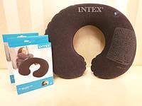 Надувная дорожная подушка, подголовник, под шею, под голову INTEX 68675