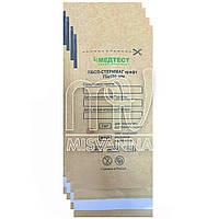 Крафт пакет для паровой и воздушной стерилизации Медтест, 75х150 мм 100 шт