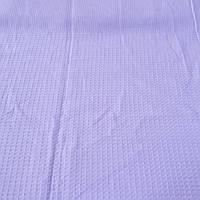 Вафельная ткань лавандовая, ширина 52 см