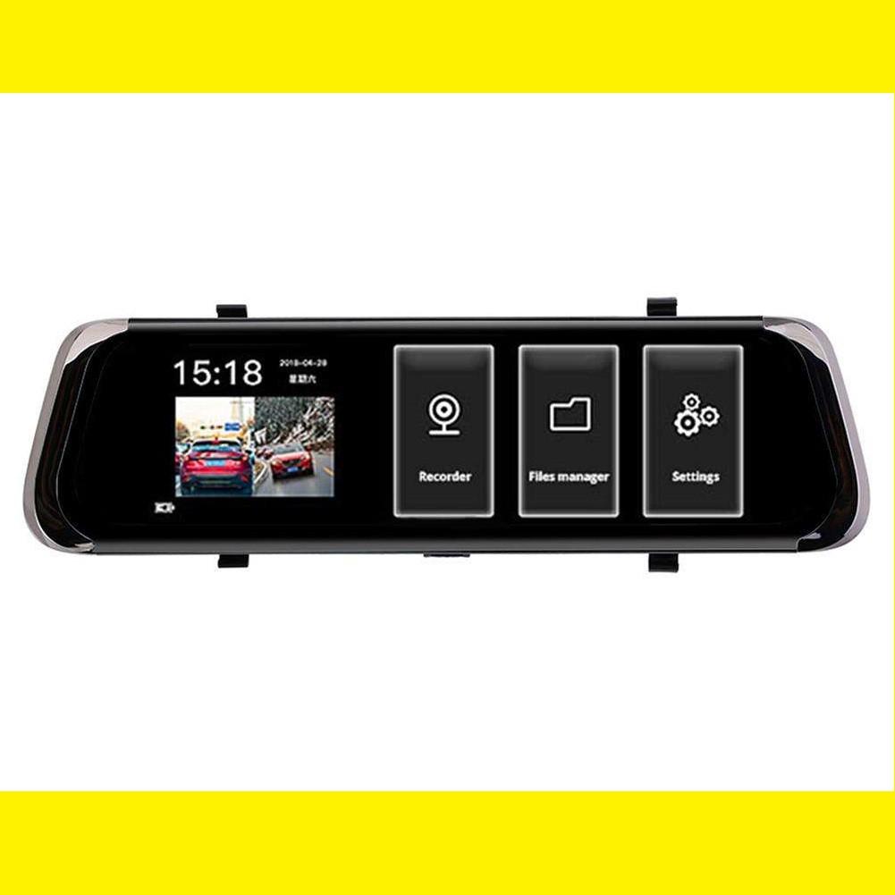 """DVR A2 Full HD 10"""" сенсорный экран. Зеркало заднего вида с видео регистратором"""