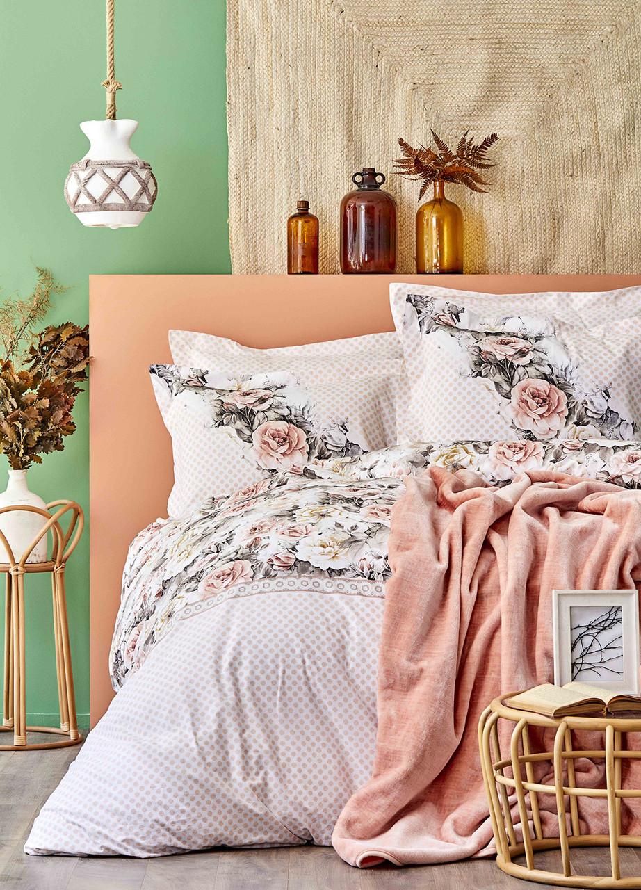 Набор Постельное белье с покрывалом Евро Elsa Karaca Home