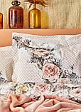 Набор Постельное белье с покрывалом Евро Elsa Karaca Home, фото 5