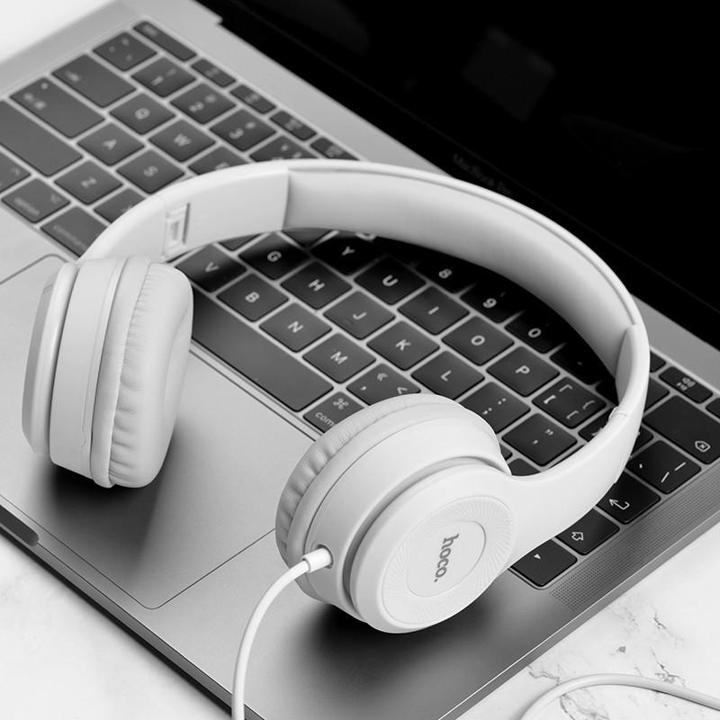Наушники MP3 Hoco W21 Original Grey