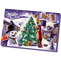 Адвент Календарь Milka Advent (Снеговик) 200g
