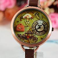 Винтажные часы Torso Korea Mini - Ренессанс. 3D, 4 см.