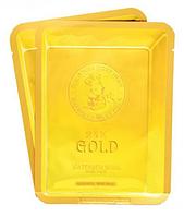 Тканинна Маска з золотом і секретом равлики Elizavecca 24k gold water dew snail mask pack 25 мл, фото 1