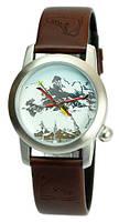 Наручные Часы Nomea Paris - Лыжи, диаметр циферблата 3,2 см.