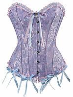 Корсет женский фиолетовый размер L
