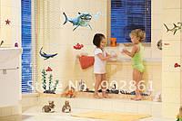 Виниловая Наклейки в детскую комнату В поисках Немо, Океан. Интерьер