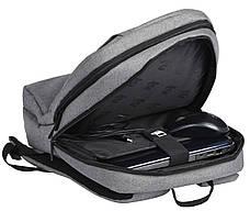"""Рюкзак для ноутбука 2E 16"""" Сірий (2E-BPN8516GR), фото 2"""