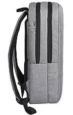 """Рюкзак для ноутбука 2E 16"""" Сірий (2E-BPN8516GR), фото 3"""