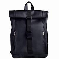 Рюкзак Roll 43(54)*31*14 см черный