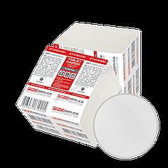 Туалетний папір листовий 1-шаровий білий 250 аркушів в упаковці PRO Service Standart