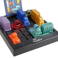 Настольная игра головоломка Rush Hour Deluxe (Час пик Дэлюкс) ThinkFun 5050, настолка, подарок