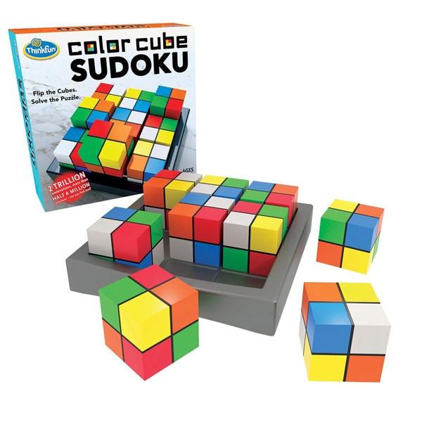 Настольная игра головоломка Color Cube Sudoku (Судоку) ThinkFun 1560-WLD, настолка, подарок