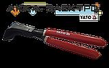 Кліщі покрівельні вигнуті 280мм для згинання листового металу Yato YT-5416, фото 2