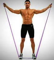 Лента эластичная (жгут, эспандер для занятий спортом), длина -  1500 мм, ширина - 150 мм, толщина - 0,35 мм