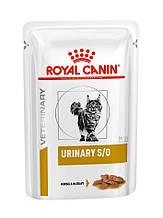 Вологий корм для кішок з сечокам'яною хворобою Royal Canin Urinary S/O в соусі 85 г