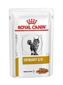 Влажный корм для кошек с мочекаменной болезнью Royal Canin Urinary S/O в соусе 85 г