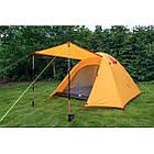 Двухслойная, 4-х местная палатка с алюминиевыми дугами, P-Series, оранжевая., фото 6