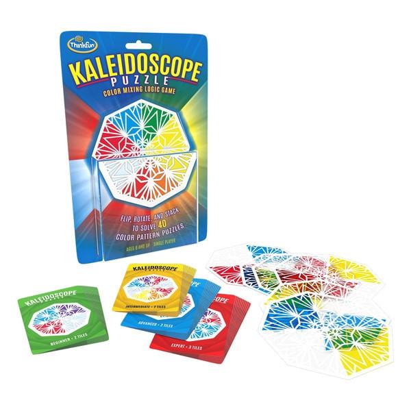 Настольная игра головоломка Калейдоскоп, ThinkFun Kaleidoscope 1522, настолка, подарок