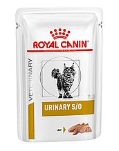Вологий корм для кішок з сечокам'яною хворобою Royal Canin Urinary S/O паштет 85 г
