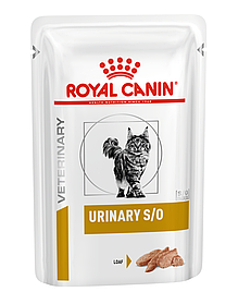 Влажный корм для кошек с мочекаменной болезнью Royal Canin Urinary S/O паштет 85 г