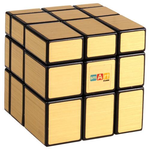 Кубик рубик Зеркальный золотой Smart Cube SC352, головоломка