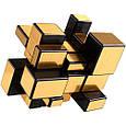 Кубик рубик Зеркальный золотой Smart Cube SC352, головоломка, фото 2