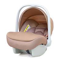 Детское автокресло для новорожденных (автолюлька) группа 0+ (0-13 кг) Carrello Mini CRL-11801 Stone Brown. Беж