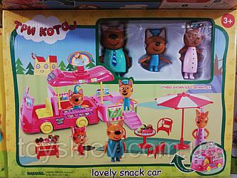 """Ігровий набір """"Три кота"""" Фургон для пікніка / Три кота lovely snack car"""