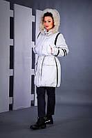 Куртка парка женская зимняя до больших размеров