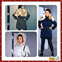 Куртка женская парка зима 2014-2015 размер 46-56