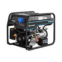 ГенераторHYUNDAI HHY 7020FЕ (5.0 кВт, 13 л.с., бензин, электростарт)
