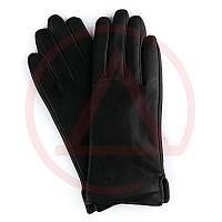 Черные перчатки женские на плюше Perch-5 магазин женских перчаток
