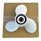 Винт PANA-SILVER алюм. Yamaha 6E5-45947-00-EL  60-140 л.с. Y-60HP 13-1/2х15, фото 2