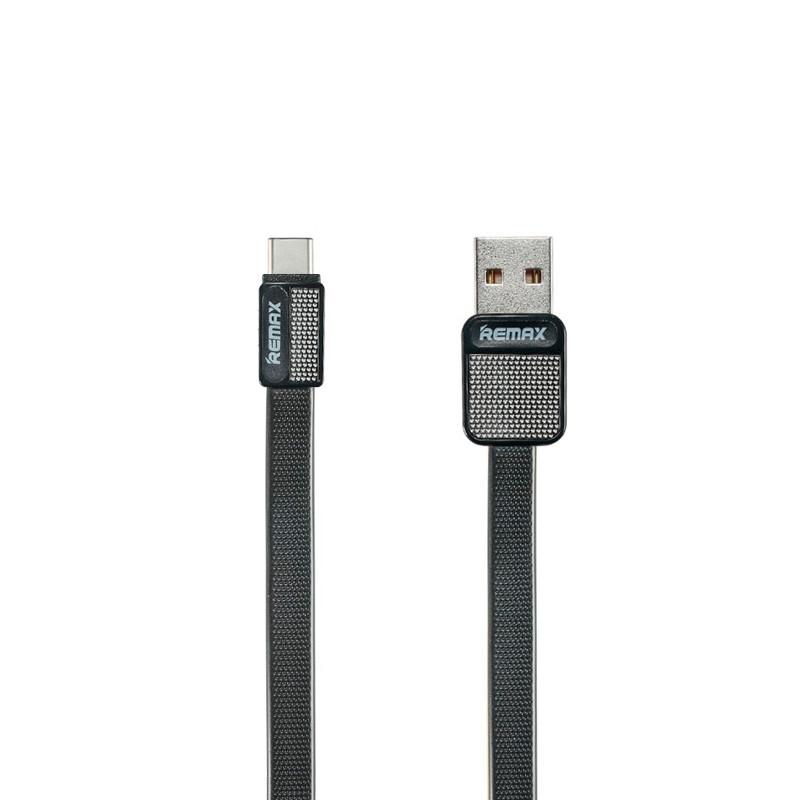 Кабель синхронізації Remax Platinum RC-044a USB - Type-C 1 м. (чорний)