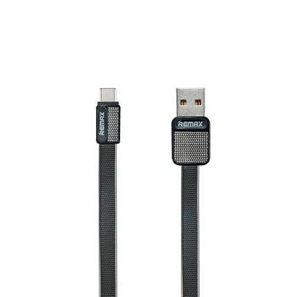 Кабель синхронізації Remax Platinum RC-044a USB - Type-C 1 м. (чорний), фото 2