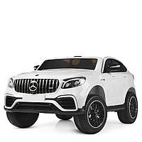 Детский электромобиль Mercedes  M 4177EBLR-1 Белый Гарантия качества Быстрая доставка