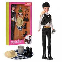 Кукла DEFA 8289 (30см, шляпа, сумочка, кубок, обувь, корона, в кор-ке, 20-33-5,5см(DEFA 8289)