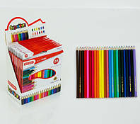 Карандаши цветные, 24шт в уп. (120шт) (0681)