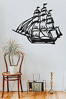 "Картина из дерева ""Корабль"""