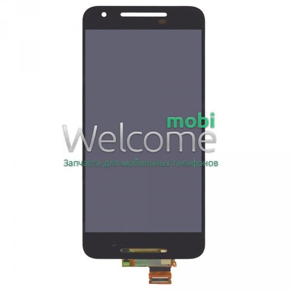 Модуль LG H791 Nexus 5X 16GB black дисплей экран, сенсор тач скрин